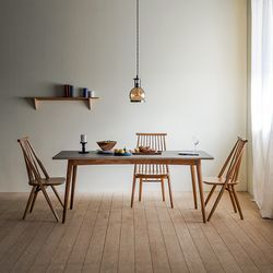 찰스퍼니처 린 리놀륨 사각형 테이블 01_1800