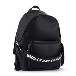 오그램 컨테이너 블랙 백팩 가방