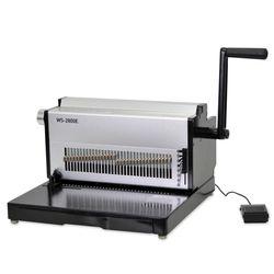현대오피스 전동 와이어링 제본기 WS-2500E 사무용