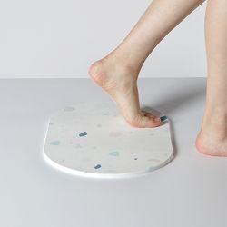 [싸데이 특가] 라운드 디자인규조토 욕실발판 발매트 M size