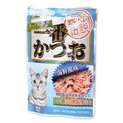 고양이간식 펫모닝 카네토라 해물맛 파우치 60g(PI-B)