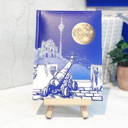 달빛노트 • LED노트 - 달과 대포