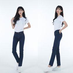 [GBM] 예쁘진 2-Way 네이비블루 데님진