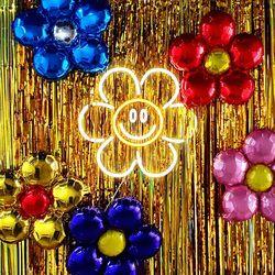 위글위글 Flower Balloon (5pc)
