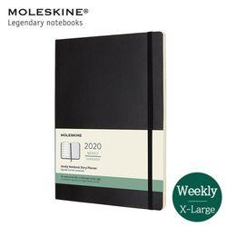 몰스킨2020 위클리 12M소프트XL 블랙