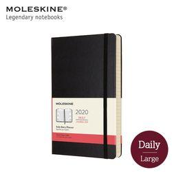 몰스킨2020 데일리 12M하드L 블랙