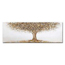 홈스타일링 황금나무 유화액자CH1485765