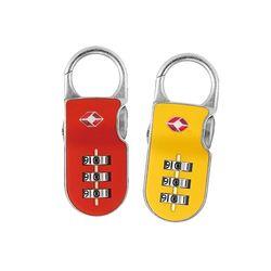 Yale 클립온락 TSA 번호키 자물쇠