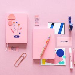 B 나의 색 나의 하루 다이어리 vol.2 (만년형) 핑크