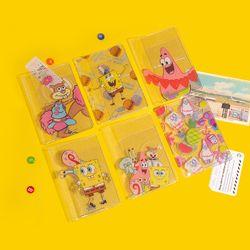 스폰지밥 글리터 여권 지갑