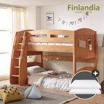 핀란디아 지니 2층침대 (코튼매트 2EA)