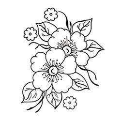 자수 꽃 도안 12종