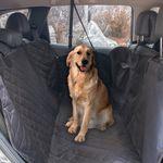 [무료배송] 강아지 차시트 반려견 카시트 자동차 시트 보호 풀커버 지퍼형
