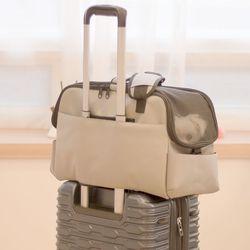 [무료배송] 강아지 기내용 가방 캐리어 반려동물 비행기 기내 탑승 매쉬
