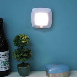 LED사각 센서등 3P세트 ICLE-H17M