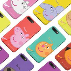 [구매별 사은품증정] 페파피그와 친구들 슬림핏케이스  - 아이폰 갤럭시 LG 폰케이스