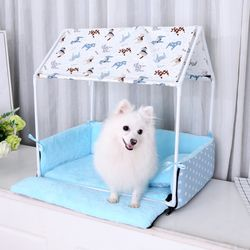 봉봉펫닷컴 강아지 실내 침대 하우스