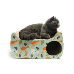 봉봉펫닷컴 고양이 스크래쳐 미니 하우스