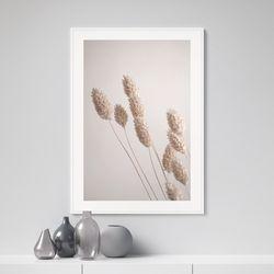 그래스 가을 들판 그림 인테리어 A3 포스터