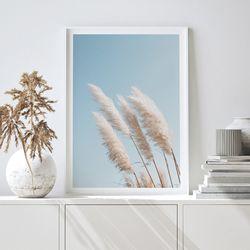 팜파스 가을 들판 그림 인테리어 A3 포스터