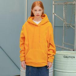Basic Fleece Hood (orange)