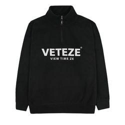 Basic Fleece Pullover (black)