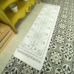PVC 페르시안 디자인 프리미엄 코팅 주방매트 (중) 46x150 cm