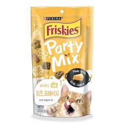 고양이간식 프리스키 파티믹스 60g(치즈크레이지)