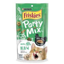 고양이간식 프리스키 파티믹스 60g(피크닉크런치)