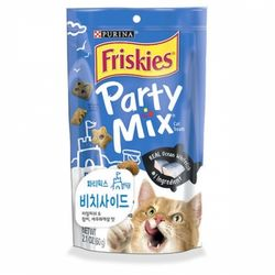 고양이간식 프리스키 파티믹스 60g(비치사이드맛)