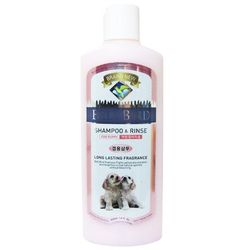 강아지목욕 벨버드 퍼피 샴푸&린스 400ml