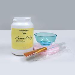 천연 한방팩 곡물팩 가루팩 천연팩 홈케어 피부관리실제품 500ml