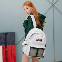 Retro Sport Bag (white)