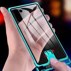 갤럭시 슬림핏 슬라이드 강화유리 하드 휴대폰 케이스