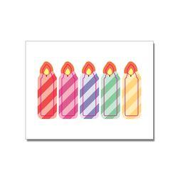 생일초 도무송 스티커