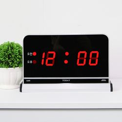 무소음 LED 디지털 탁상시계 SDY-103R
