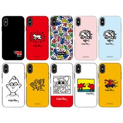 SKINU x Keith Haring 2019 카드수납-갤럭시 노트8