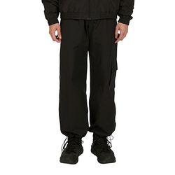 Point Pocket Cargo Pants - Black