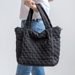 [ZIUM] W-14 모스키 패딩 숄더백 여성가방 핸드백 패딩가방