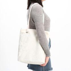 [ZIUM] W-21 테디양털백 여성가방 핸드백 패딩가방