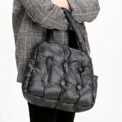[ZIUM] W-24 오트리패딩 숄더백 여성가방 핸드백 패딩가방