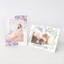 스탠딩 페이퍼프레임 - 4x6 블라썸 5매 (종이액자)