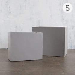 (S) 대형 FRP화분 hp1179 63x30x52 백화점화분