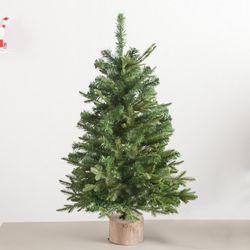 초고급 연그린 알파인 트리 90cm 크리스마스 TRNOES