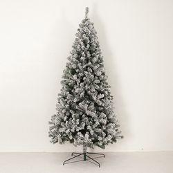 초고급 스노우 트리 250cm 트리 크리스마스 TRNOES