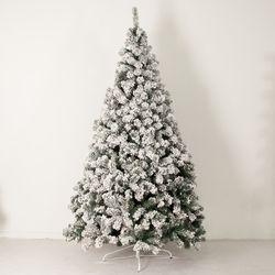 초고급 스노우 트리 210cm 트리 크리스마스 TRNOES