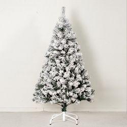 초고급 스노우 트리120cm 트리 크리스마스 TRNOES