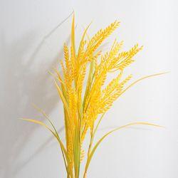 노란 벼 모형(90cm)