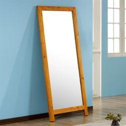 키티 소나무 전신 거울