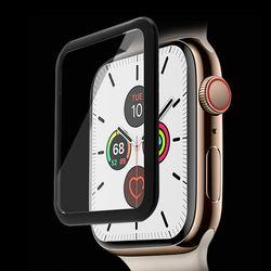 애플워치5 풀점착 강화유리 액정보호필름